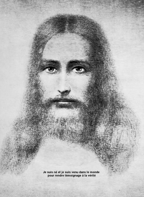 Broderie médiumnique Christ-9